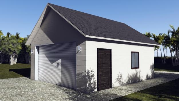 20 x 24 Garage