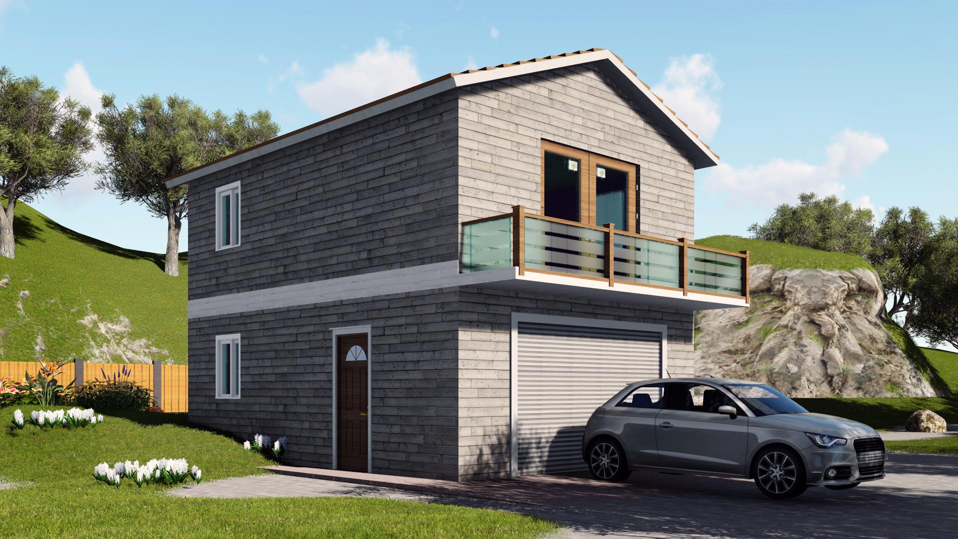 Mini Coach House Easybuildingplans