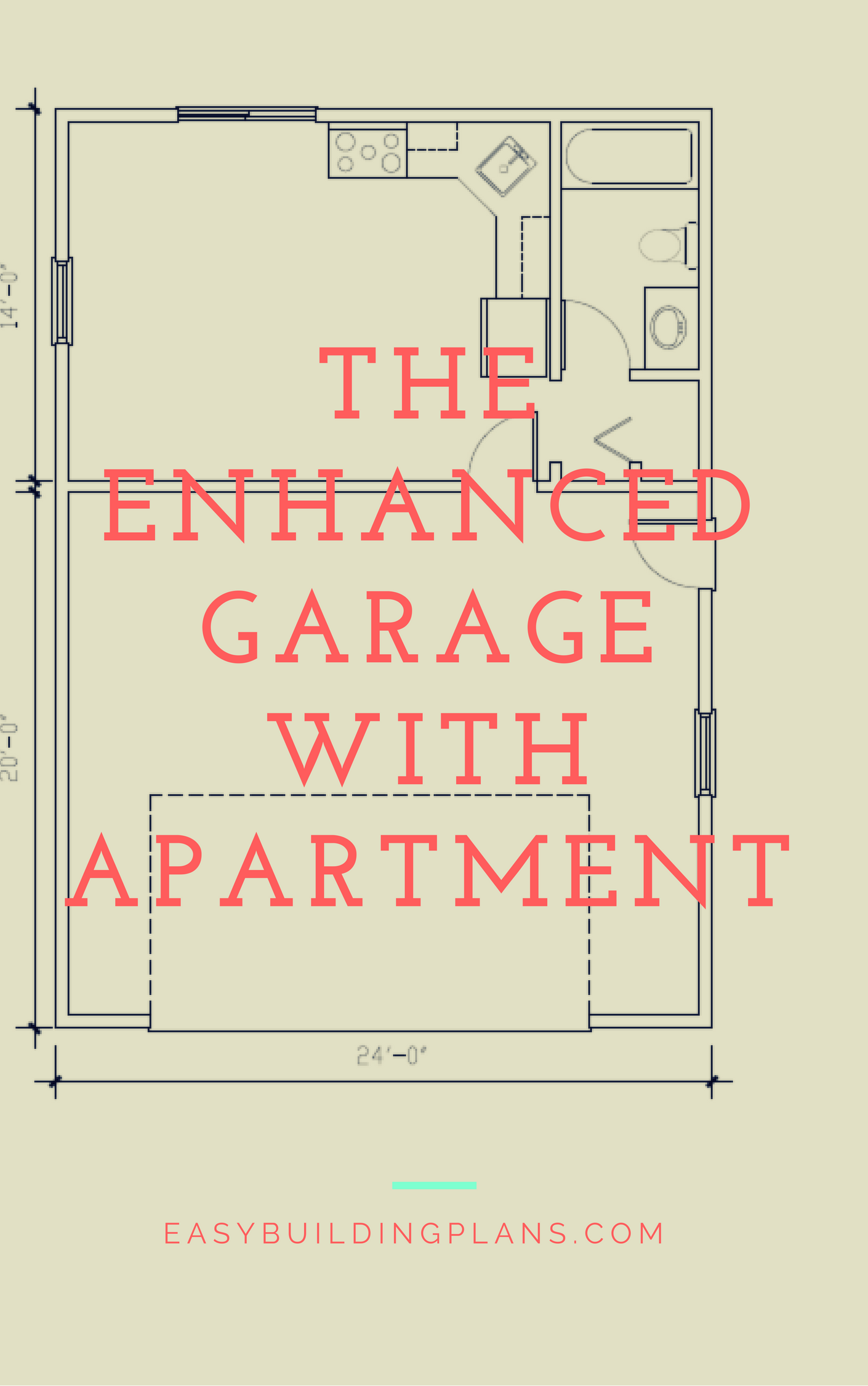 Easybuildingplans ready to use building plans for Garage with apartment plans ontario