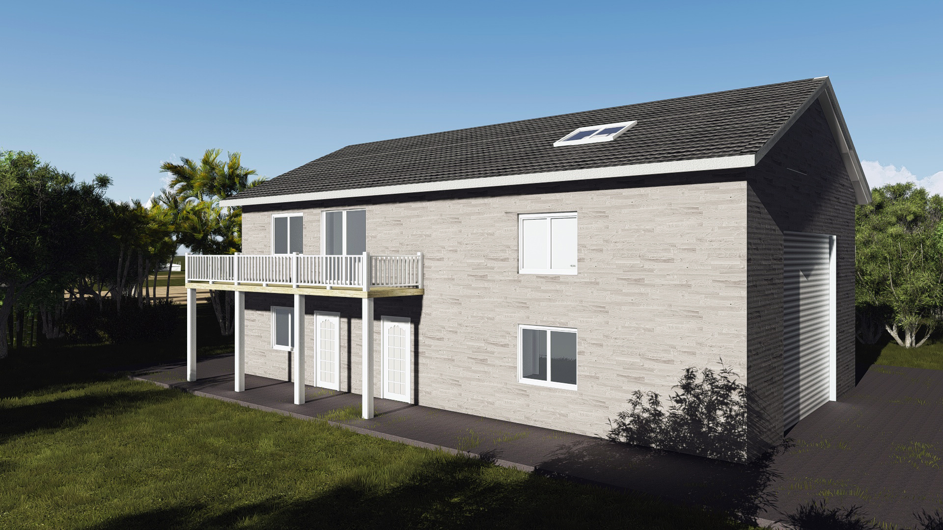Special offers easybuildingplans for Oversized garage with apartment