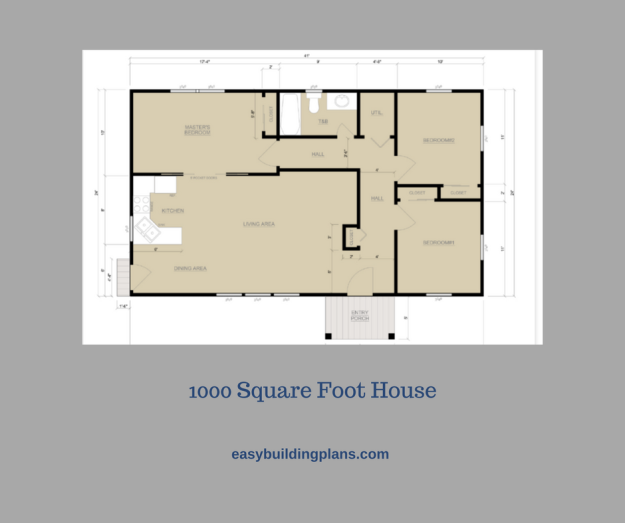1000 Square Foot House Built Without Engineering in California