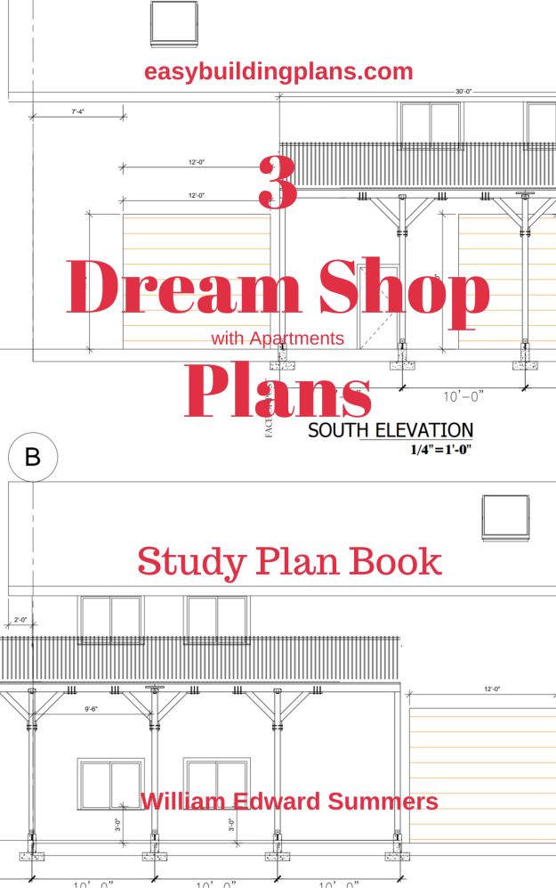 3 Dream Shops with Apartments Plans
