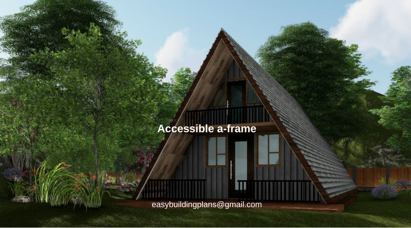 Accessible A Frame Cabin