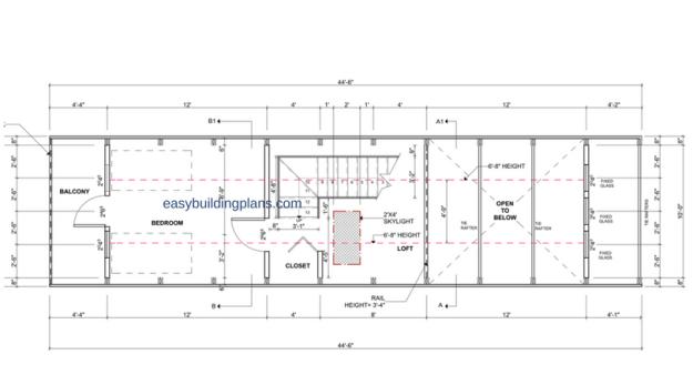 Basic A-Frame Second Floor
